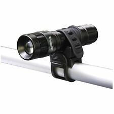 LED Focus Flashlight Metal Torch 1300 Lumen Front Head Light Bike Holder Bicycle