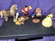 Beauty And The Beast Disney Figurines Lot Of 5