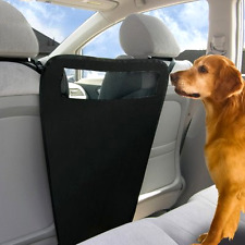 New Pet Car Barrier Back Seat Vehicle Dogs Net Safety Gate Mesh For Travel Use .