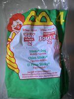 1999 Toy Story 2 McDonalds Happy Meal Toy - Slinky Dog #4 Disney Pixar New