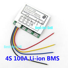3S 12.6V 100A Lithium Li-ion 18650 Battery BMS Protection Board PCB with Balance