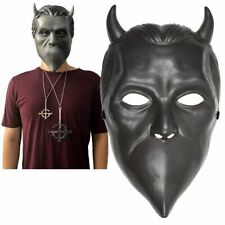 Ghost B.C Rock Roll Band Nameless Ghoul Halloween Cosplay Mask Prop Helmet Party