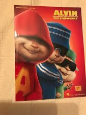 Alvin And The Chipmunks Piano Vocal Guitar Sheet Movie Music Song Book Leonard