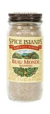 Spice Islands Beau Monde Seasoning 3.5-Ounce (Pack of 3) Free Shipping