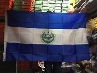 El Salvador Flag Big Indoor Outdoor Salvadorian Country Banner 1 Piece Only