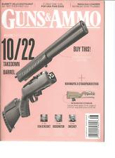 Guns & Ammo Magazine AUG 2017, 10/22 TAKEDOWN WITH A NEW SILENT-SR BARREL