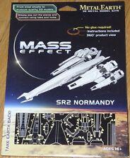 Mass Effect SR2 Normandy Metal Earth 3D Laser Cut Metal Model Fascinations