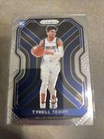 2020-21 Panini Prizm Tyrell Terry #259 Base RC Dallas Mavericks Rookie