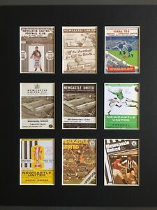 """Newcastle United FC Football Vintage Programme Picture 14"""" By 11"""" Free Postage"""
