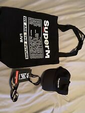 SuperM Official Concert Merch VIP Package Set US tour Hat Lanyard And Bag