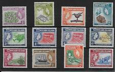 More details for pitcairn islands sg18/28 1957-63 definitive set of 12 mnh