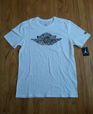Nike Air Jordan Men's T-Shirts Retro 1 BHM Jumpman Logo 23 Tee Sz L Large NWT