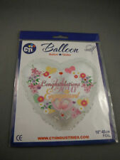 Unbranded Engagement Round Party Balloons & Decorations