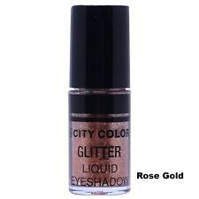 "City Color Hi-Shine Glitter Liquid Shadow ""Rose Gold"" W5432"