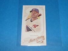 2015 Allen & Ginter NICK SWISHER #29 A&G Flag Mini/25 Indians-Braves BUCKEYES