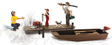 Woodland Scenics N Scale Scenic Accents Figures/People Set Family Fishing