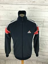 "Men's Adidas Fleece Style Track Top - Medium 44"" - Navy - Great Condition"