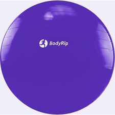 PURPLE EXERCISE GYM YOGA SWISS 65cm BALL GYM FITNESS AB ABDOMINAL KEEP FIT TONE