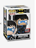Funko Pop DC Nightwing 2020 NYCC Shared Exclusive Preorder *FREE SHIP*