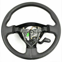 2004-2005 Subaru Impreza WRX STI OEM Driver Steering Wheel Black Leather LHD
