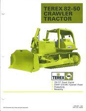 Equipment Brochure - Terex - 82-50 - Crawler Tractor - 1981 (E3860)