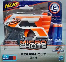 Hasbro Nerf Micro Shots Rough Cut 2 x4 N-Strike E1626/E0489 Neuware