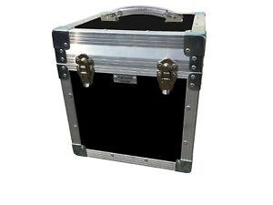 "12"" LP Vinyl Record Box Flight Case Heavy Duty Protective Storage Case"
