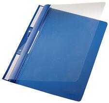 Leitz Plastic-einhängehefter 4190 252 X 315 Mm Klemmhefter blau