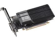EVGA GeForce GT 1030 SC, 02G-P4-6332-KR, 2GB GDDR5, Passive, Low Profile