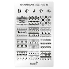 Konad Stamping Nail Art Square Image Plate 30 Christmas