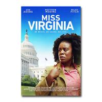 Daniel Hanna Uzo Aduba Silk Canvas Poster 24x36 inch Miss Virginia Movie R.J