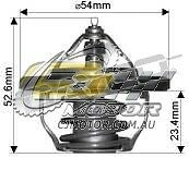 DAYCO Thermostat(inc seal)FOR Hyundai i20 7/10-5/12 1.6L V-DOHC MPFI PB G4FC
