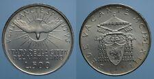 SEDE VACANTE 500 LIRE 1963 ROMA FDC