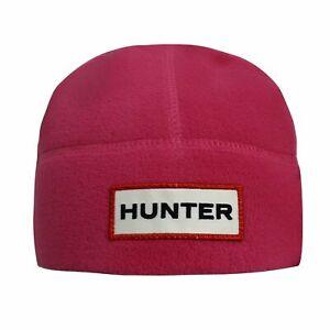 Hunter Original Fleece Hat Kids Unisex Winter Logo Beanie KAH3018KCA FUS
