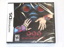999: Nine Hours * Nine Persons * Nine Doors for  DS / DS Lite / DSi *Brand New*