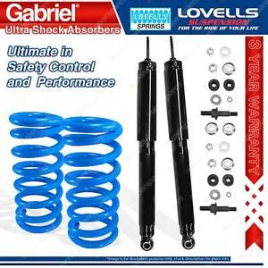 Rear STD Gabriel Ultra Shocks + Lovells Springs For Holden Torana Sunbird LC LJ
