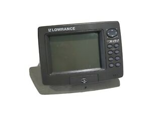 Lowrance LCX 17m Fishfinder Sonar Chartplotter Head Unit *30 DAY WARRANTY *