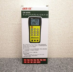 DER EE DE-5000 Fully Automatic and High Accuracy Handheld LCR Meter