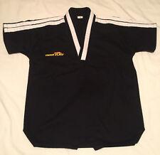 Tiger Claw Lightweight Tae Kwon Do Uniform Gi Black size 00 or Boys 8 Medium