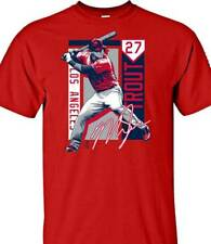New listing Brand  New MLBPA  Men's Los Angeles Angels Mike Trout  #27  Player T-Shirt  XL