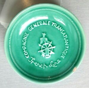 vide poche ancien compagnie generale transatlantique french line - Cendrier CGT