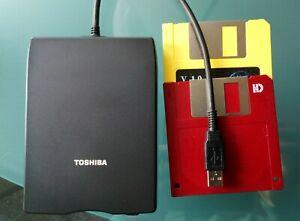 """Original Toshiba USB FFD Kit externe Diskettenlaufwerk für 3,5"""""""