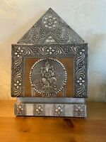 old India decorative metal mailbox Ganesha Hindu