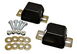 Energy Suspension For 00-04 Excursion Bump Stop Set Black Front - 4.9103G