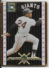 WILLIE MAYS No. P1 - METALLIC IMAGES COOPERSTOWN COLLECTION PROMO SAMPLE