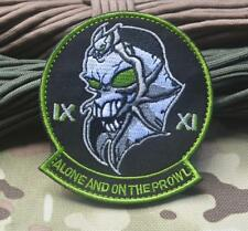 US Air Force IX XI Alone and on the Prowl Skunk Works Prowler Hook Morale Patch