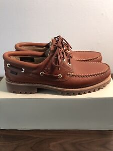Aime Leon Dore & Timberland Authentic 3-Eye Lug Brand New Size 10 Brown Shoes