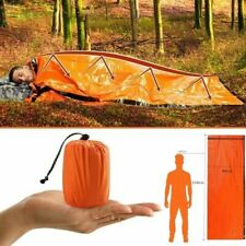 Emergency Survival Waterproof Sack Thermal Mylar Sleeping Bag 79