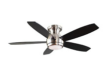 New GE Treviso 52 in. Brushed Nickel Indoor LED Ceiling Fan with Remote Control