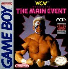 Wcw Main Event Nintendo Game Boy